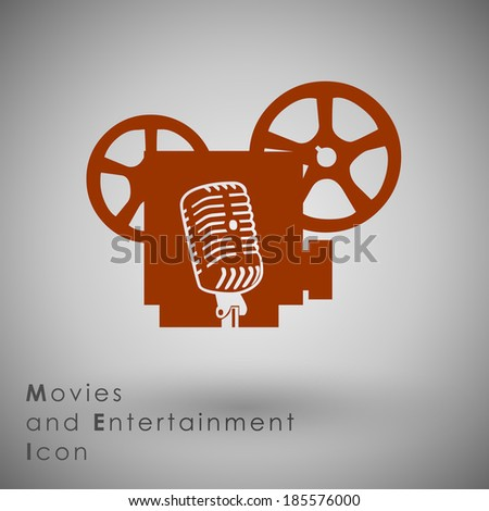 abstract icon template movie