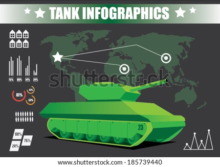 tank info graphics elements