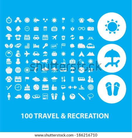 100 travel  recreation