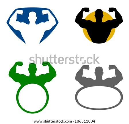 strong man emblem