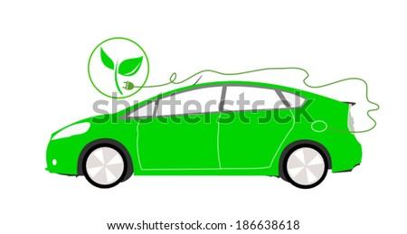 eco friendly green car