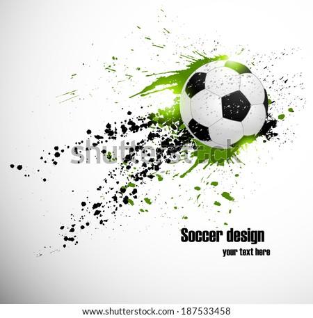 soccer deign design for brazil