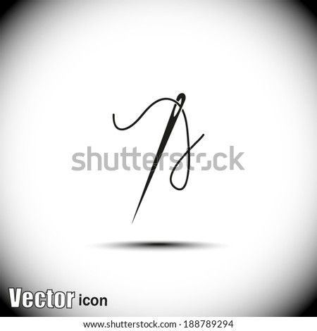 black vector icon