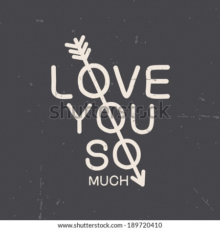 chalkboard card concept love