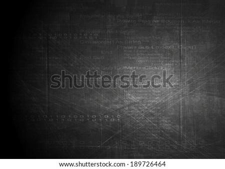 dark technology vector grunge
