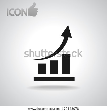 chart icon  vector illustration