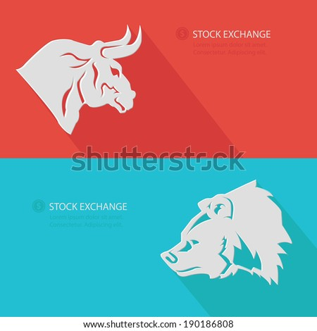 bull   bear stock exchange