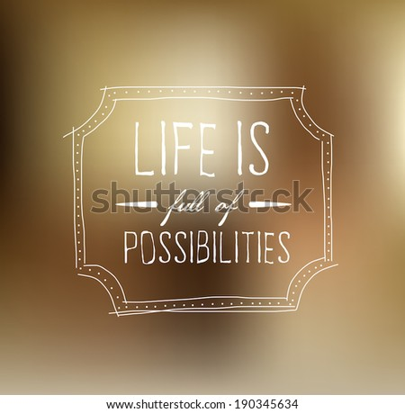vector motivational poster with