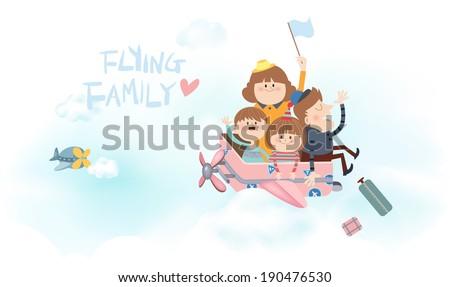 flying family