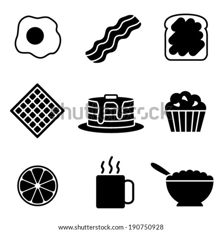 simple black and white vector