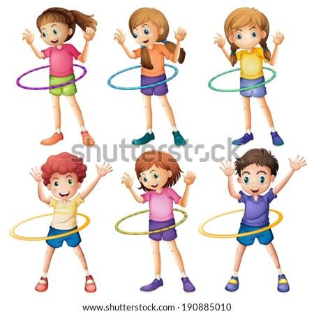illustration of the kids