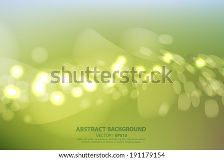 blurred background with green