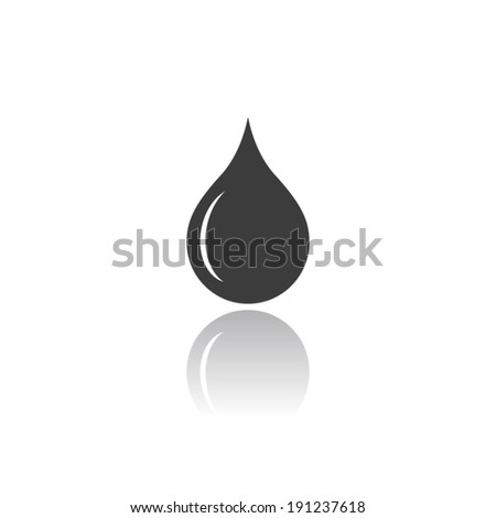 drop icon  vector illustration