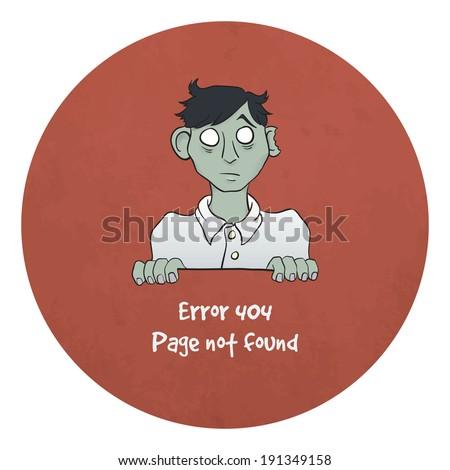 sad young zombie   funny error