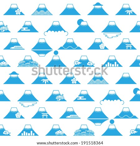 background of mt fuji with