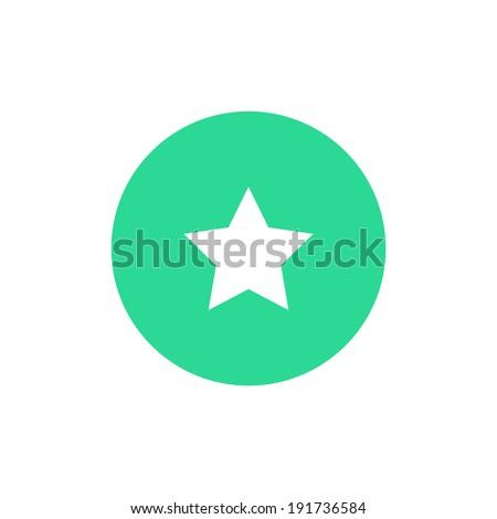 icon star icon color vector