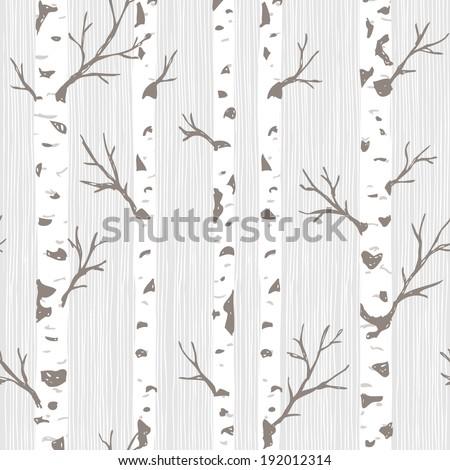 birch tree pattern