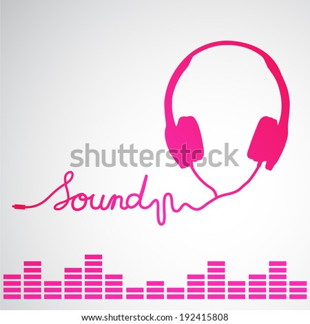 headphones music streaming icon