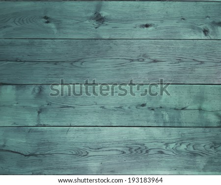 background with blue oak boards