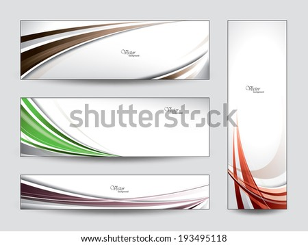 banners vector eps10 designs