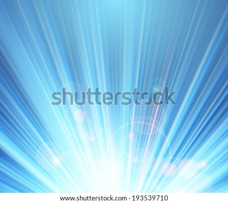 blue shining magic light vector