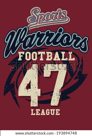 sports warriors football league