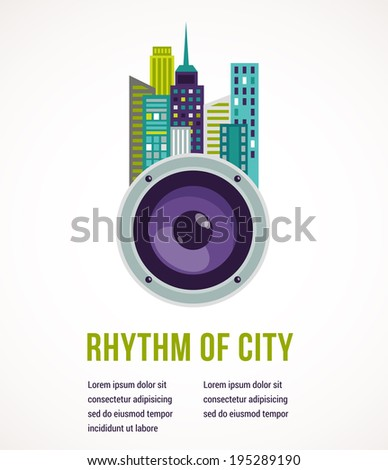 music and city   amplifier and