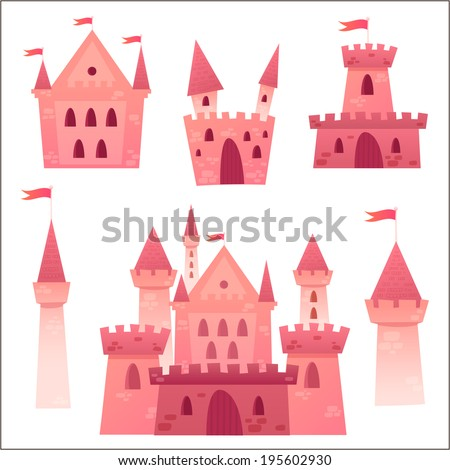 cute cartoon vector medieval
