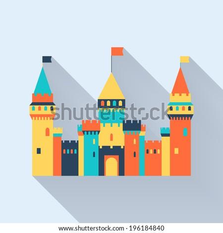 castle tower fairy tale long