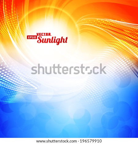 sunlight abstract artistic