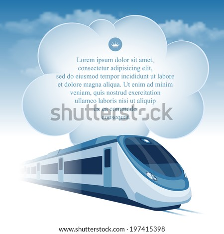 passenger high speed train