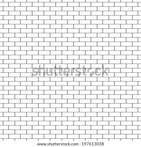 painted brick wall pattern