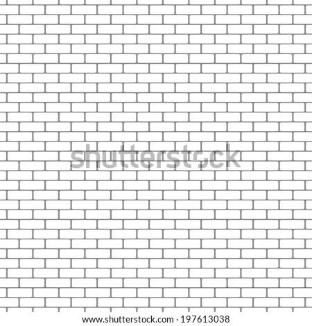 painted brick wall pattern