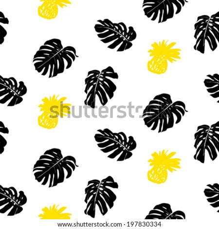vector seamless ditsy pattern