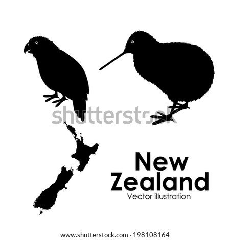 new zealand design over white