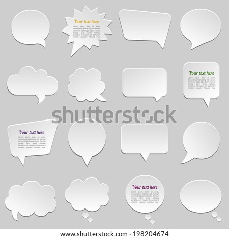 dialogue cloud vector