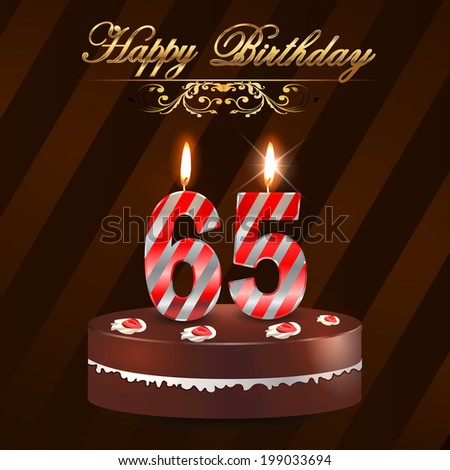 Happy 65th birthday free vector download (4,569 Free vector) for ...