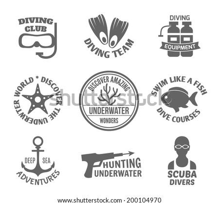 diving club team equipment