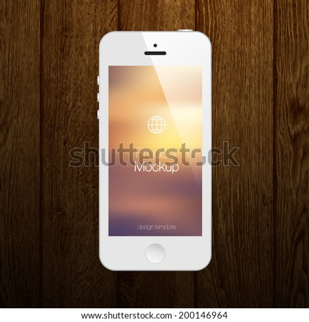 mobile phone vector design