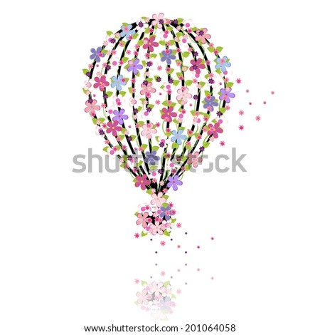 balloon made from different