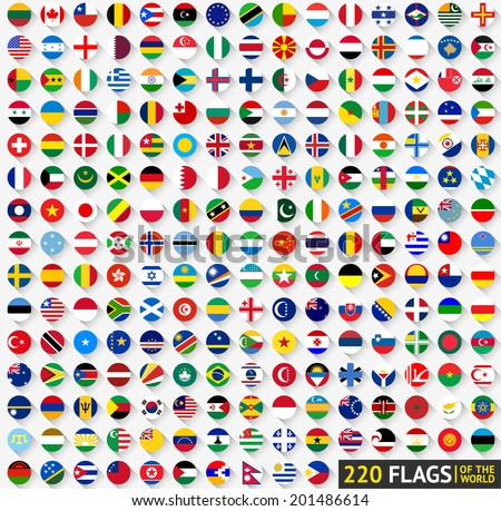 220 flags of the world