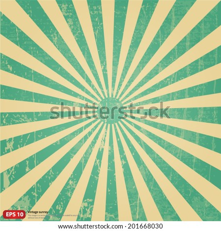 new vector vintage green rising