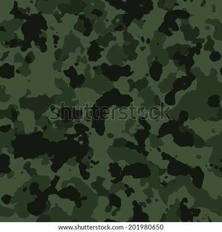 dark green seamless camo