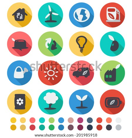 vector file of  ecology icon