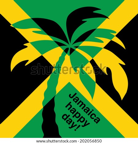 jamaica happy day  greeting