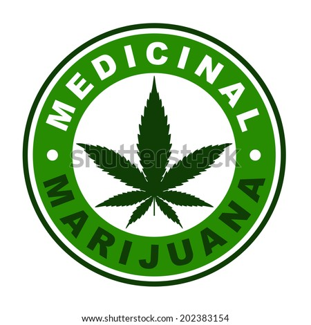 medicinal marijuana label