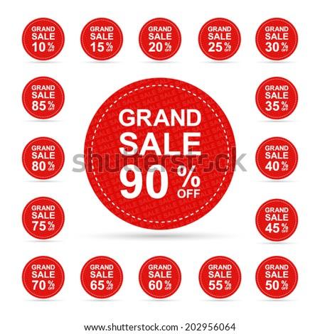 grand sale 10 15 20 25 30 35 40