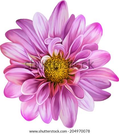mona lisa flower  pink flower