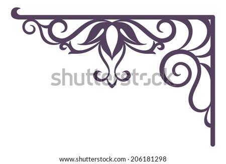 decorative vintage forged