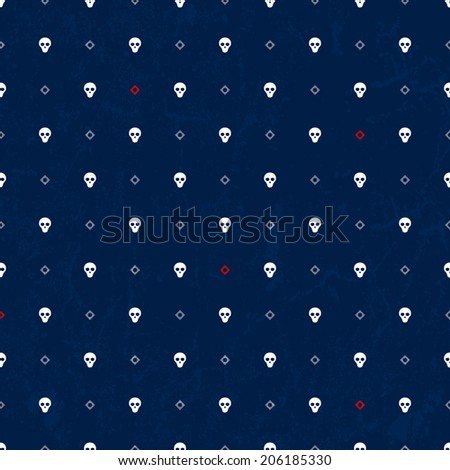seamless fabric print with